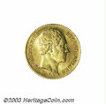 Belgium: , Belgium: Leopold I gold 10 francs 1850, Bust right/Crowned andmantled arms, Dup-457, Fr-5, KM18, Choice Brilliant Uncirculated.Ve...