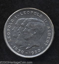 Belgium: , Belgium: Leopold I-Leopold II-Albert 10 francs 1930, French legend,Position A, Conjoined busts left/Value, Dup-2372, KM99, AU..F...