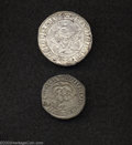Belgium: , Belgium: Mary (1477-1482) Pair of 15th Century Dated Coins: OneGros 1479 Bruges Mint GH41-3a Fine; and Double Briquet 1480 AntwerpM... (Total: 2 coins Item)