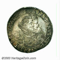 Belgium: , Belgium: One Ducaton 1621 Brussels Mint, Two Busts Right GH 309-3,Delmonte-249 (R1), Davenport-4428. Boldly Struck Very Fine. ...