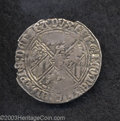 Belgium: , Belgium: Philip Le Bon (1419-1467) Double Gros No Date, GH 9-2 Alittle ragged, otherwise Very Fine. ...