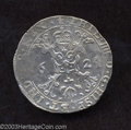 Belgium: , Belgium: Philip IV (1621-1665) 1/4 Patagon Bruges 1624. GH331-6,Delmonte-313, KM37 Nearly Extremely Fine. ...