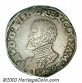 Belgium: , Belgium: Namur One Philipsdaalder 1592, GH 210-13b, Delmonte 44(R2) Davenport 8658 A One Year Type with only 2449 coins struck.Very...