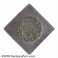 Belgium: , Belgium: Siege Klippe of 50 Stuivers Small Shield 1672,Delmonte-736 (R1), KM27.2 Very Fine with light scratches on thereverse. ...