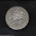 Belgium: , Belgium: 1/2 Silver Ducaton (Silver Rider) 1775, Delmonte 1055,KM115 Lustrous About Uncirculated. ...