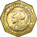 Commemorative Gold, 1915-S $50 Panama-Pacific 50 Dollar Octagonal MS60 Uncertified....
