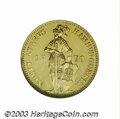 German States:Hamburg, German States: Hamburg. Gold ducat 1870B, Knight standing/Tablet, Fr-1142, KM280, MS64 NGC. Prooflike surfaces with minor hairlines.. Fro...