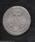 German States:Nurnberg, German States: Nurnberg. Taler 1623, Dav-5636, bold VF-XF, tiny scratch in the reverse field. Crowned two-headed eagle/Three arms in ovals....