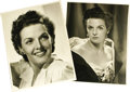"""Movie/TV Memorabilia:Photos, Jane Russell Vintage Photo Portraits. A pair of striking b&w 11"""" x 14"""" photos of Russell, in Excellent condition with very m..."""