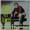 """Music Memorabilia:Recordings, """"Jerry Lee Lewis And His Pumping Piano"""" 10"""" LP (South Africa, London S 5520, 1957). The 'Killer' was more than 'Nationwide' ..."""