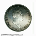 Poland: , Poland: Alexander I 10 Zlotych 1821IB, Bust right/Crowned eagle, Dav-248, KM101.1, lightly cleaned VF.. From the Dr Irving Arenber...