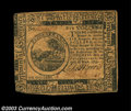Colonial Notes:Continental Congress Issues, Continental Currency May 10, 1775 $6 Extremely Fine. ...