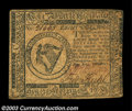 Colonial Notes:Continental Congress Issues, Continental Currency May 10, 1775 $8 Extremely Fine. ...
