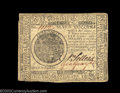 Colonial Notes:Continental Congress Issues, Continental Currency May 9, 1776 $7 Very Fine. Well signed ...