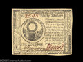 Colonial Notes:Continental Congress Issues, Continental Currency July 22, 1776 $30 Choice About New. ...