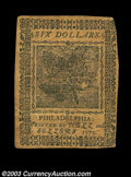Colonial Notes:Continental Congress Issues, Continental Currency November 2, 1776 $3 Extremely Fine. A ...
