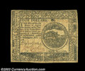 Colonial Notes:Continental Congress Issues, Continental Currency November 2, 1776 $4 Choice Extremely ...