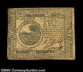 Colonial Notes:Continental Congress Issues, Continental Currency November 2, 1776. Two notes: $2 ... (2 notes)