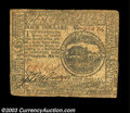 Colonial Notes:Continental Congress Issues, Continental Currency May 20, 1777 $4 Fine. A solid example ...