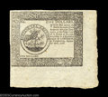 Colonial Notes:Continental Congress Issues, Continental Currency September 26, 1778 Blue Counterfeit ...