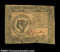 Colonial Notes:Continental Congress Issues, Continental Currency September 26, 1778 $8 About New. The ...