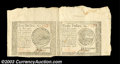 Colonial Notes:Continental Congress Issues, Continental Currency September 26, 1778 Horizontal Pair. A ...