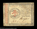 Colonial Notes:Continental Congress Issues, Continental Currency January 14, 1779 $3 Very Fine. A very ...
