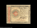 Colonial Notes:Continental Congress Issues, Continental Currency January 14, 1779 $20 Very Choice New. ...