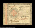 Colonial Notes:Continental Congress Issues, Continental Currency January 14, 1779 $80 Choice New. Well ...