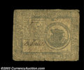 Colonial Notes:Continental Congress Issues, Three Mixed Continental Currency Notes. One from the May ... (3notes)