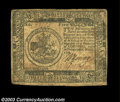 Colonial Notes:Continental Congress Issues, Continental Currency. There are two notes in this lot, ...
