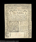 Colonial Notes:Connecticut, Connecticut June 19, 1776 9d Very Choice New. There is an ...