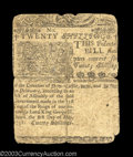 Colonial Notes:Delaware, Delaware May 1, 1758 20s Fine. Quite intact and with no ...