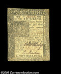 Colonial Notes:Delaware, Delaware January 1, 1776 1s Extremely Fine. Rather closely ...