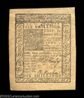 Colonial Notes:Delaware, Delaware January 1, 1776 6s Choice About New. The note has ...