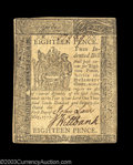 Colonial Notes:Delaware, Delaware May 1, 1777 18d Choice About New. An ideal ...
