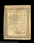 Colonial Notes:Delaware, Delaware May 1, 1777 2s6d Choice About New. A well ...