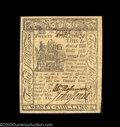 Colonial Notes:Delaware, Delaware May 1, 1777 20s Choice About New. Hugely margined,...