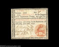 Colonial Notes:Georgia, Georgia June 8 1777 $4 Extremely Fine. Beautifully signed ...