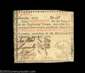 """Colonial Notes:Georgia, Georgia June 8, 1777 $7 About New. Red """"in"""" in the fourth ..."""