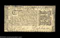 Colonial Notes:Maryland, Maryland April 10, 1774 $1/6 Choice About New. A boldly ...