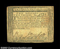 Colonial Notes:Maryland, Three December 7, 1775 Maryland Notes. A $2 2/3 grading