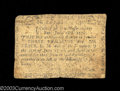 Colonial Notes:Massachusetts, Massachusetts June 18, 1776 3s6d Fine. This is the type-...