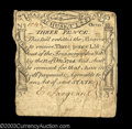 Colonial Notes:Massachusetts, Massachusetts October 18, 1776 3d Very Fine. An evenly ...