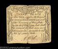 Colonial Notes:Massachusetts, Massachusetts October 18, 1776 9d Very Fine. A solid, good ...
