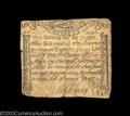 Colonial Notes:Massachusetts, Massachusetts October 16, 1778 1s6d Fine. But for repaired ...