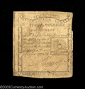 Colonial Notes:Massachusetts, Massachusetts 1779 3s6d Fine. Somewhat off center on both ...