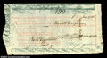 Colonial Notes:Massachusetts, Massachusetts Continental Loan Office Bill of Exchange July ...