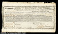 Colonial Notes:Massachusetts, Massachusetts Commodity Bond. Listed by Anderson as MA-22, ...