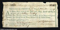 Colonial Notes:Massachusetts, Massachusetts Continental Loan Office Note Extremely Fine. ...